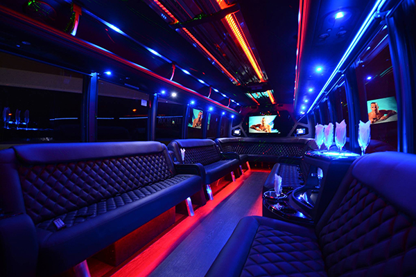 40 passenger party bus rental Chesapeake