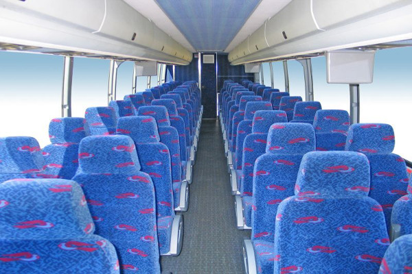 50 person charter bus rental Chesapeake